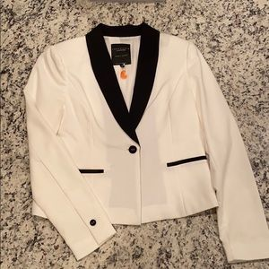 Sanctuary black and white blazer